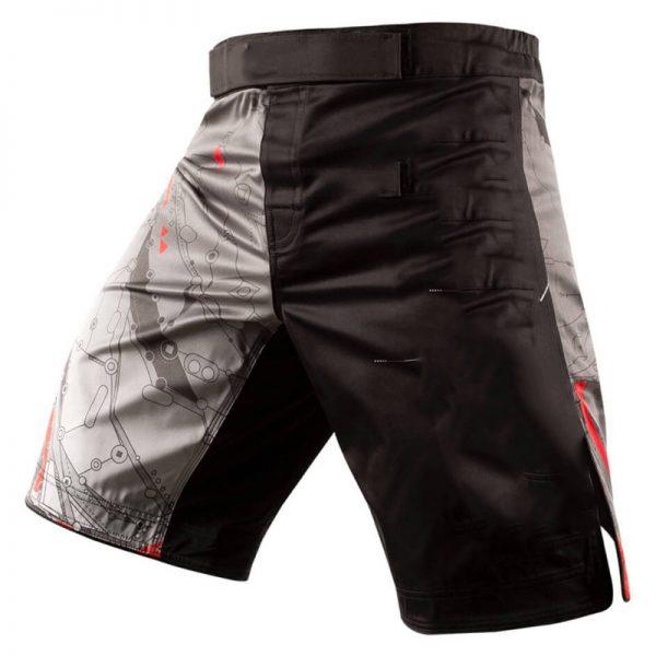 MMA Training Cage Fighting Grappling Kickboxing Shorts Black Grey 1