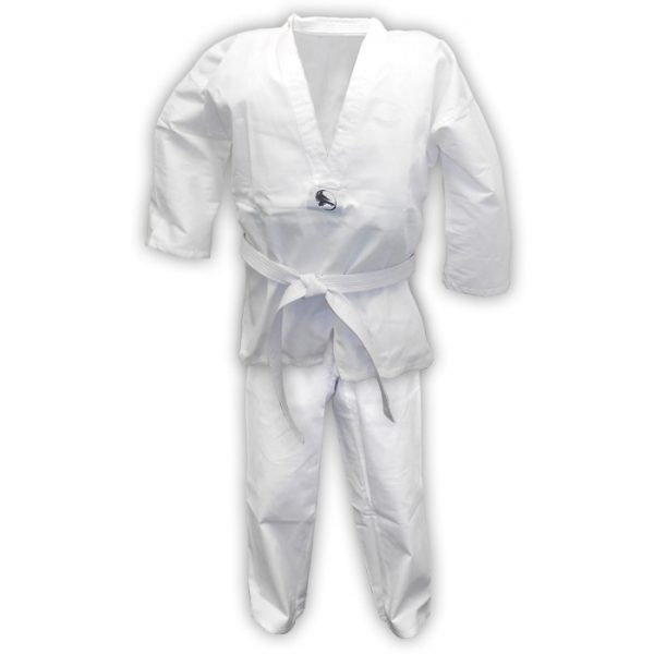 Taekwondo Fight Suit White Premium Quality 100% Cotton 1