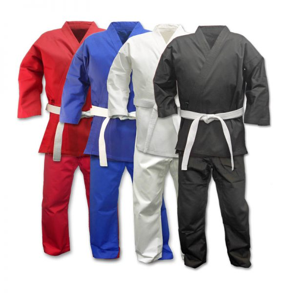 Adult Karate Suit 100% Polyester Cotton Karate Gi 1