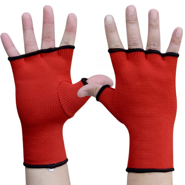 Hand Wraps Inner Boxing Gloves Muay Thai MMA UFC Kick Boxing Red 1
