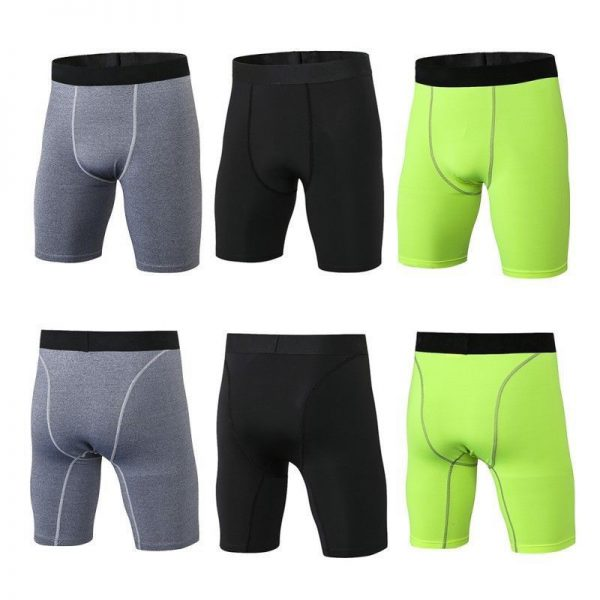 Compression Shorts Under Base Layer Sports Running Gym Wear 1