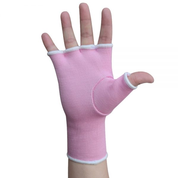 Hand Wraps Inner Boxing Gloves Muay Thai MMA UFC Kick Boxing Pink 1