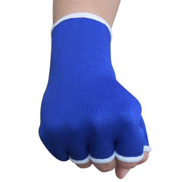 Hand Wraps Inner Boxing Gloves Muay Thai MMA UFC Kick Boxing Blue 1