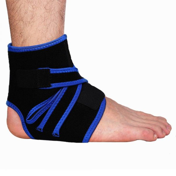 Gel Padded Ankle Support Brace Compression Protector 1