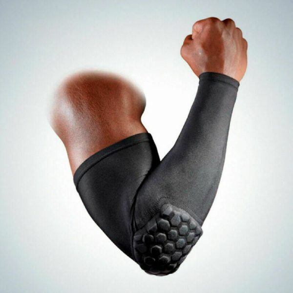 Elbow Pads Crash Proof Sport Basketball Shooting Support Arm Sleeves 1