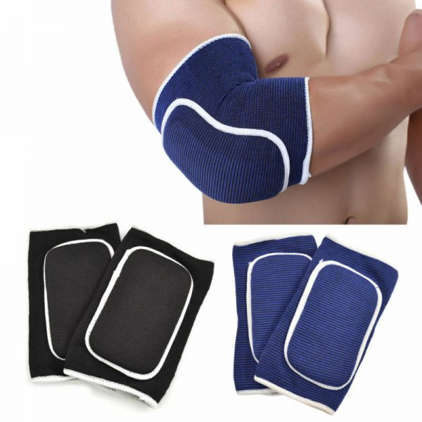 Elbow Brace With Gel Pads Support Sleeve Strap 1