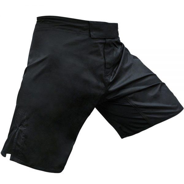 MMA Shorts Kick Boxing Short Cage Fight Grappling Shorts Black 1