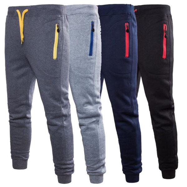 Men Sports Pants Long Trousers Fitness Wear 1