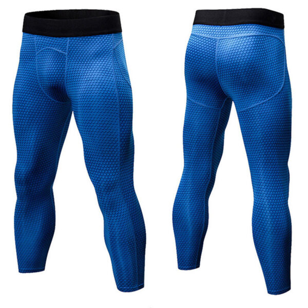 Mens GYM Workout Compression Running Sports Leggings 1