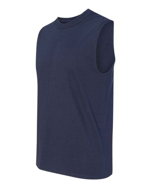 Mens Loose-Fit T-Shirt Fitted Muscle Tank Tops 1