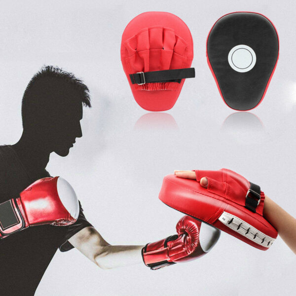 MMA Focus Boxing Pads Mitts Gloves Punching Pads 1