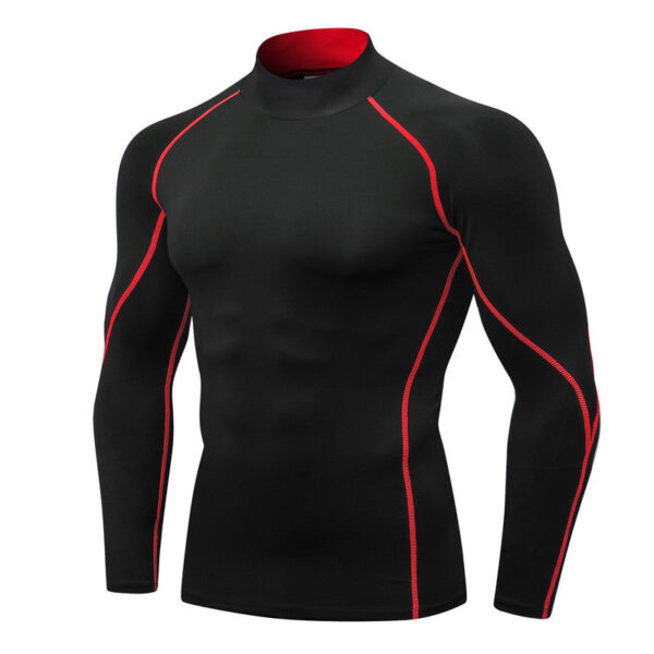 Men's Rash-guard Compressed Dry Fit Fight Shirt 1